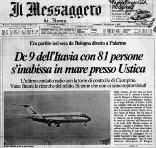 il_messaggero_dc9-itavia_ustica
