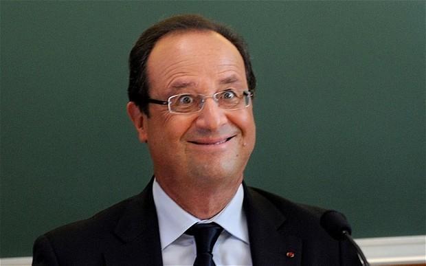Tutto l'acume geopolitico di Francois Hollande in una foto