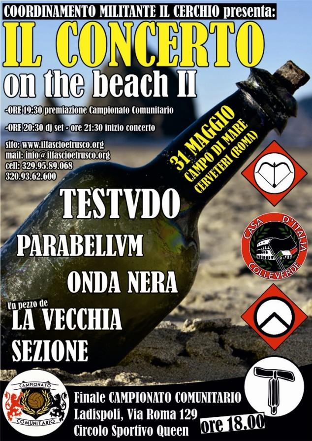 Concerto on the beach