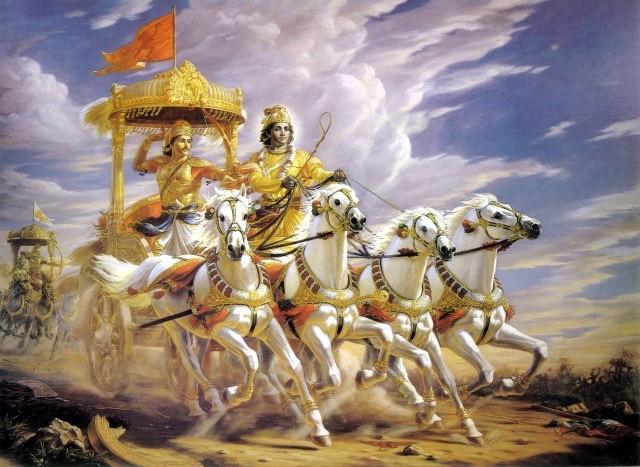 arjuna-krishna-bhagavadgita