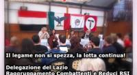 """Inprossimitàdella ricorrenza del 2 giugno– anniversario della repubblicaitaliana di cartapesta– nel quadro degli incontri programmati,il Raggruppamento Combattenti e Reduci della R.S.I.""""Franco Aschieri""""come ogni anno, ha […]"""