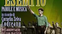 Sabato 29 Novembre ore 18:00 Essere Esempio Parole e musica in ricordo di Corneliu Zelea Codreanu Nell'anniversario del suo martirio
