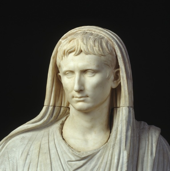 augusto pontefice massimo autorità regalità roma imperium