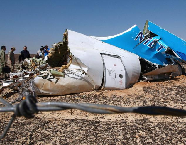L'a321 russo abbattuto nel Sinai