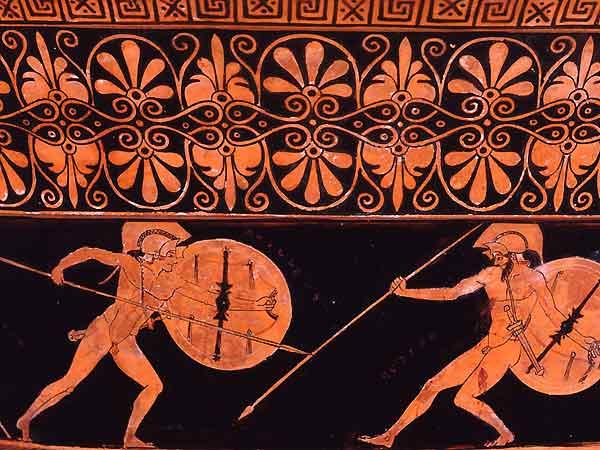 guerra-guerriero-azione-lotta-tradizione-vaso-antica-grecia-iliade