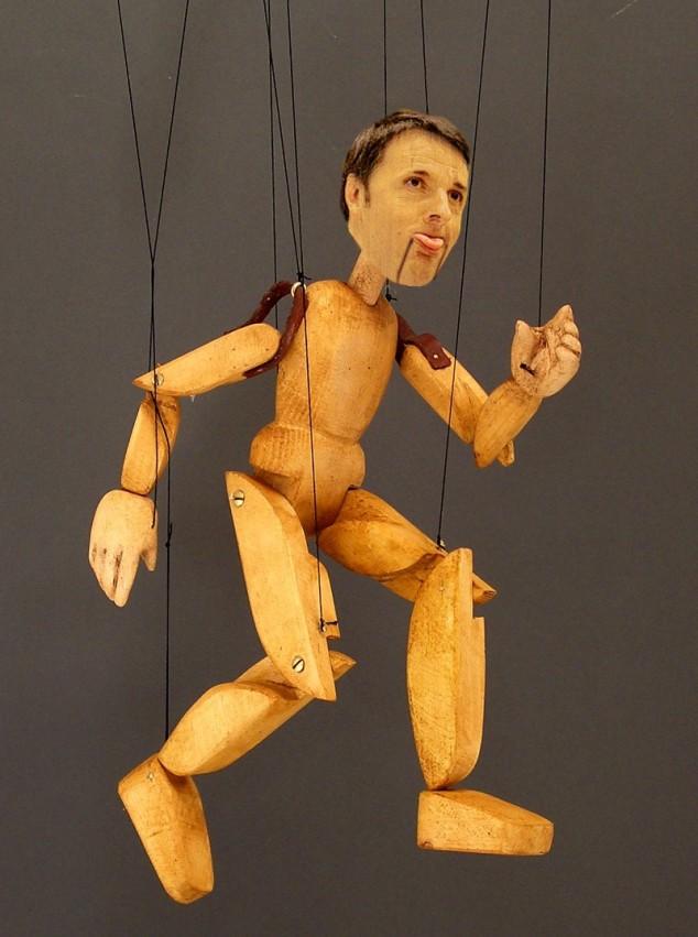 marionetta renzi