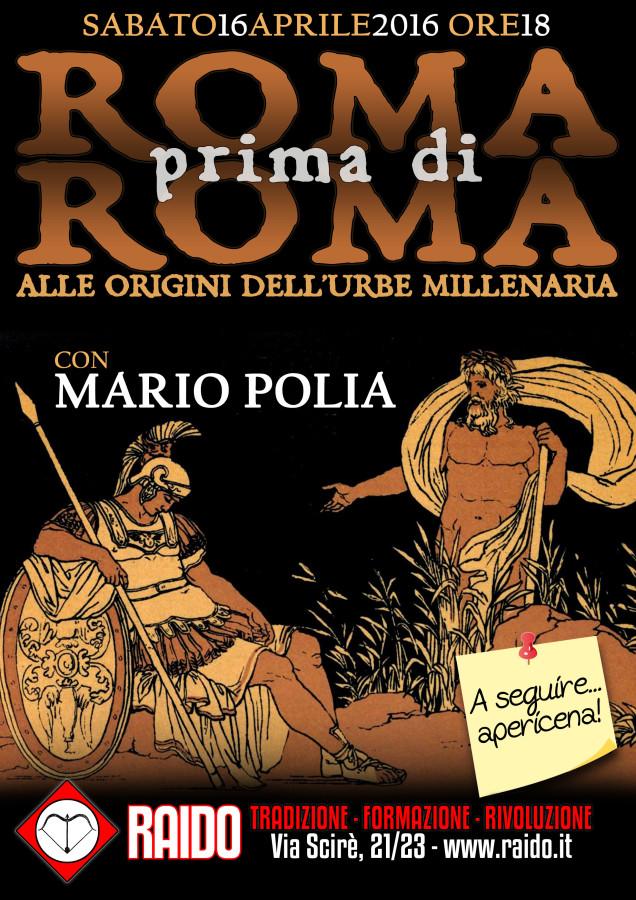 locandina Polia Roma 2016