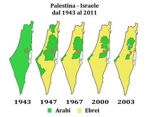 palestina-israele-medio-oriente