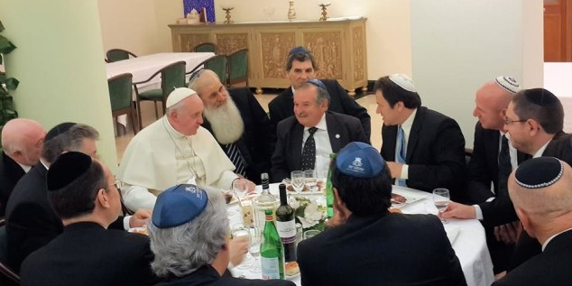 papa-bergoglio-chiesa-bnai-brith-massoneria-ebraismo-israele