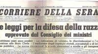 da www.rigenerazionevola.it Anche il Corriere della Sera (quello che nel 1938 si esaltava per le Leggi Razziali del Regime fascista!) lanci i suoi strali contro […]