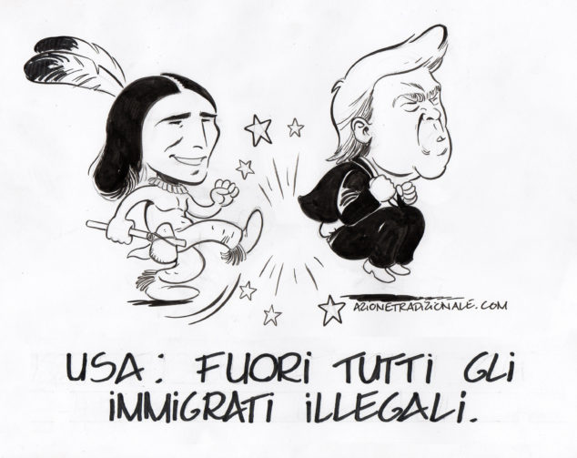 Indiani d'america trump sioux