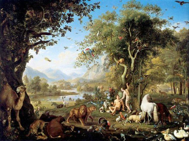 Johann_Wenzel_Peter_-_Im_Paradies/eden/adamo/eva
