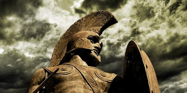 Leonida statua