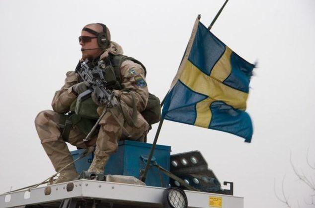 svezia esercito militari leva guerra