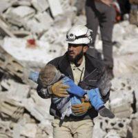 Manipolazione dei bambini contro la Siria