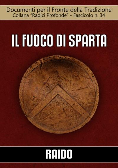 34 Il fuoco di Sparta fascicolo