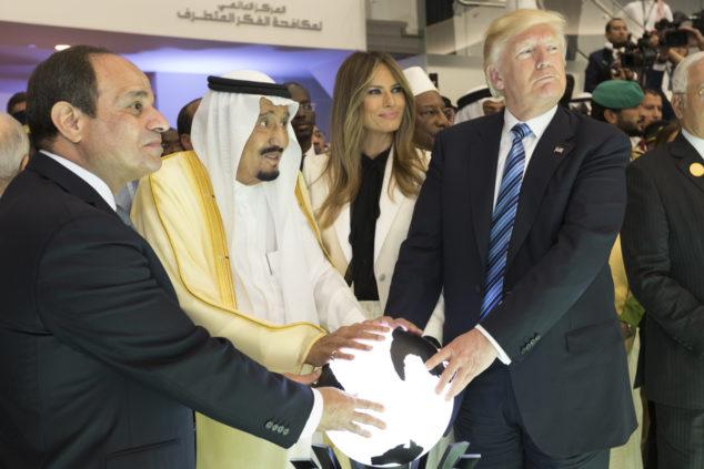 President_Trump saudi arabia medio oriente al sisi