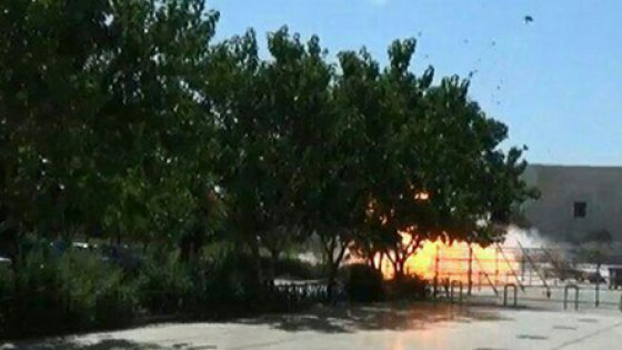 L'esplosione del 7 giugno scorso al mausoleo di Khomeini di Teheran