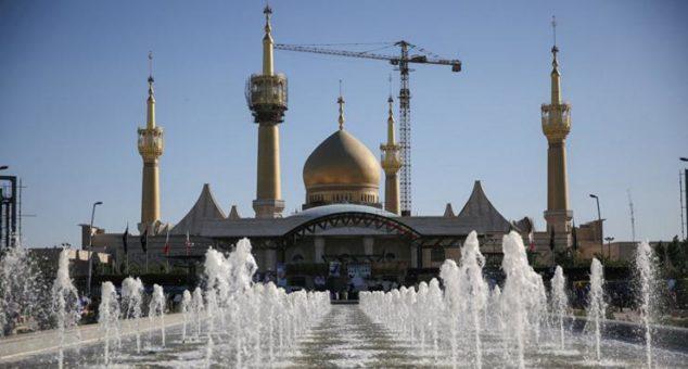 teheran iran mausoleo khomeini