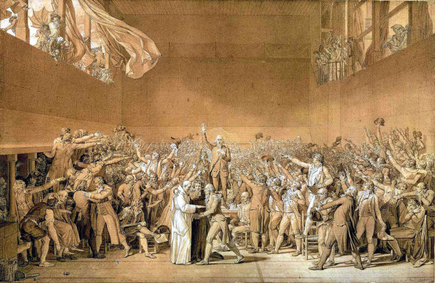 giuramento pallacorda david rivoluzione francese