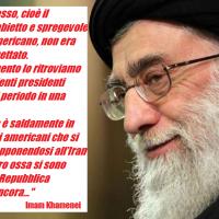 Sanzioni U$A all'Iran? Imam Khamenei risponde per le rime