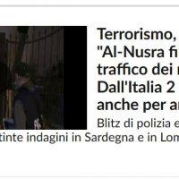 Guerra in Siria, l'Italia con chi sta? Con Al-Nusra