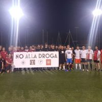 """Torneo di calciotto """"Un calcio alla droga"""" (Roma, 15.06.2018)"""