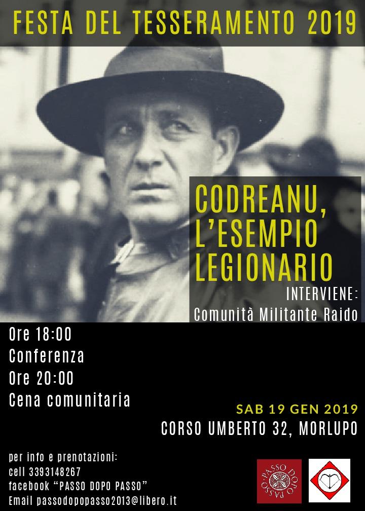 Codreanu, Esempio Legionario