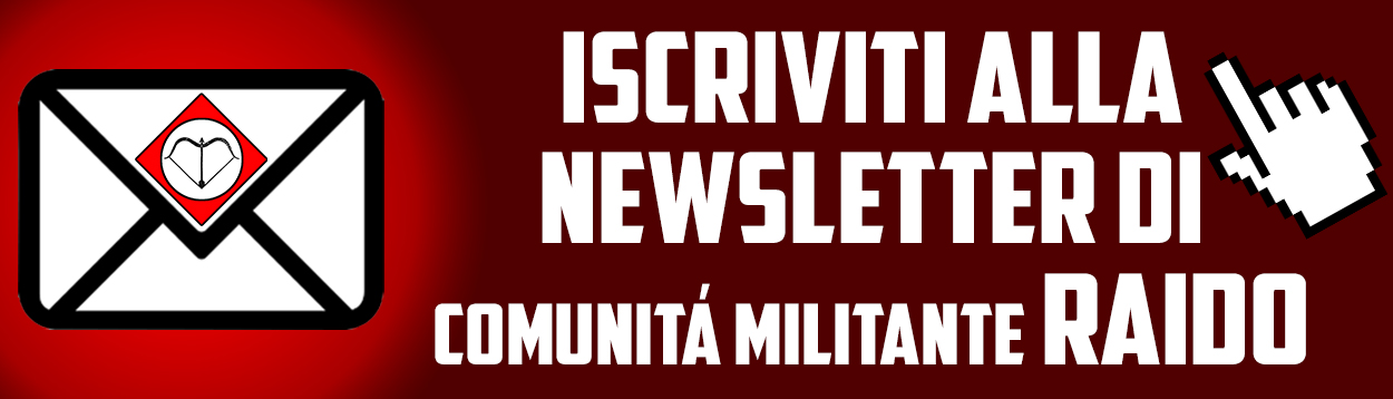 Iscriviti alla newsletter politica di Raido!